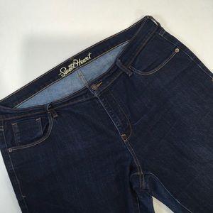 Old Navy Sweetheart Skinny jeans Dark 16